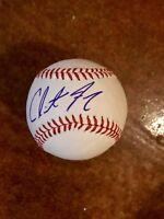 Clint Frazier Autograph signed Major League Baseball JSA COA