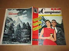 RIVISTA SPORTIVA IL CAMPIONE ANNO 1956 ANNO II° N°28 KUBALA CASTELLOTTI GUERRA