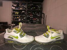 cc2aa7068b 2007 Nike Air Max 90 Womens Athletic Running Shoes Size 8 White Volt Gray