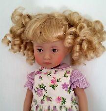 Monique Heart Wig 6/7 for BJD MSD Kish Ellowyne Evangeline Strawberry Blonde