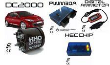 KIT HHO PER MOTORI 2400CC + AMPEROMETRO + PWM AUTOMATICO 30A + CHIP HEC
