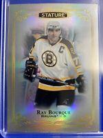 2019-20 Upper Deck Stature The Alumni #89 Ray Bourque Boston Bruins Legend