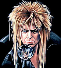 "David Bowie labyrinth Latch Hook Chart 24.8 x 28.0"" CHART ONLY"