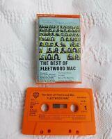 FLEETWOOD MAC. THE BEST OF FLEETWOOD MAC CASSETTE TAPE. CLUB-EDITION.