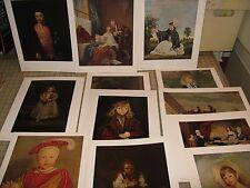 Vintage National Gallery of Art PORTFOLIO #3 Portraits of Children - 12 Prints