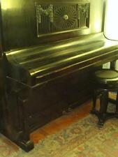 Vtg. upright German-Polish piano W.Jahne made  in 1930's-you're buying history!