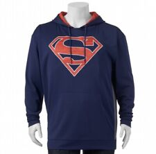 Mens - SUPERMAN hoodie - L - DC COMICS - GRAPHICS - Drawstring Hood - Pocket NWT