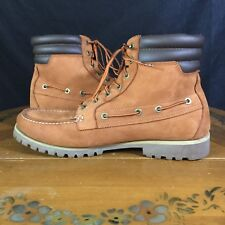 """TIMBERLAND Earth Keepers Mens Original 6"""" Leather Boots Brown 13 M US 6117A 2898"""