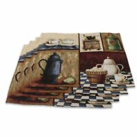 Cute Table Mats Placemats Sets of 4 Non-Slip Washable Coffee Mats Heat Resistant