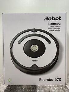 iRobot Roomba 670 Black Robotic Vacuum Cleaner NEW