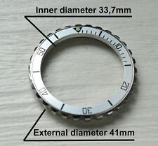 Vostok watch Silver bezel custom Amphibia & Komandirskie Stainless steel +Insert