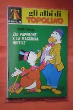 ALBI DELLA ROSA- POI albi di TOPOLINO - N°966 -mondadori disney anno 1973 -casa