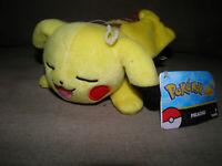 "Pokemon Pikachu Plush Toy 8"" TOMY Nintendo Official Licensed Brand New"