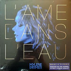 """Mylène Farmer 12"""" L'âme Dans L'eau - Tirage Limité, Vinyle Or - France (M/M)"""