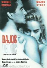 Basic Instinct / Bajos Instintos DVD NEW Michael Douglas Sharon Stone SEALED