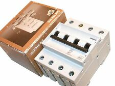 UP TO 2 NEW SIEMENS 16 AMP 3 POLE CIRCUIT BREAKERS DIN MOUNT 5SX26 B16