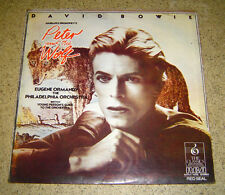 PHILIPPINES:DAVID BOWIE - Peter & The Wolf LP rare RCA RED SEAL Scarce Copy,VHTF