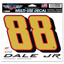 """DALE EARNHARDT JR  #88 CHEVY SS 5"""" X 6"""" NASCAR MULTI-USE DECAL"""