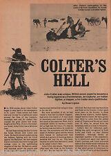 Colter's Hell + Bridger, Clark, Dickson, Hancock, Lewis, Lipton, Lisa, Potts