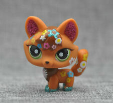 Fox Shimmer FOX #2341 Green Eyes LITTLEST PET SHOP LPS Loose Action Figure