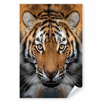 Autotattoo Tiger auf Baum *TOP* Autoaufkleber Raubkatze Tiger Afrika