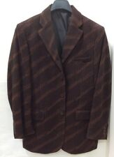 Pronti men's Blazer size Large,3 Button,Burgundy,80%polyester,20%Rayon,New!!
