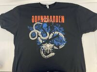 Soundgarden Spring 2017 Tour Mens Graphic T-Shirt  Double Sided New Size Small