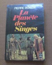 LA PLANETE DES SINGES Pierre Boulle  - 1st PB 1963 livre poche - planet apes NF