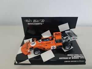 MARCH FORD 751 V. BAMBRILLA  WINNER AUSTRIAN GP 1975 MINICHAMPS 1/43