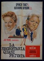 M125 Manifesto 2F The Secretary Near Private Spencer Tracy Katharine Hepburn