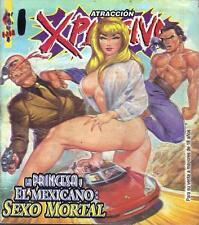 """ATRACCION EXPLOSIVA """"LA PRINCESA Y MEXICANO"""" mexican comic humor SEXY GIRLS #11"""