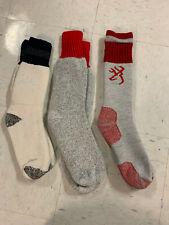 (3) Pairs of Men's Wool Thermal Boot Socks