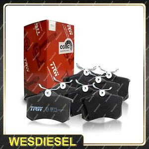 Front + Rear TRW Disc Brake Pads fits Holden Commodore VE SSV Brembo Upgrade