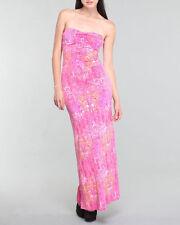 COOGI Allover Signature Pink Maxi Dress size L