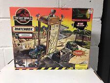 The Lost World Jurassic Park Matchbox Site B Garage 1996 Playset  NEW