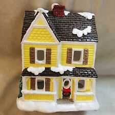 CALIFORNIA CREATIONS CHRISTMAS VILLAGE COUNTRY HOUSE HAND PAINTED