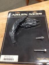 Arlen Ness Flame Mirror Left Black 13-087 Motorcycle Harley Davidson Suzuki