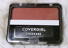 COVERGIRL Cheekers Pressed Powder Blush, Brick Rose #180 Brand New