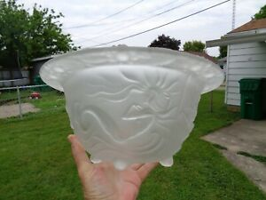 Mermaid Center Piece Bowl by Joseph inwald for Barolaz of Czechoslovakia