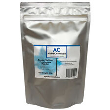 1 Pound - Copper Sulfate Pentahydrate Powder - 99% Pure