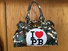 PAUL'S BOUTIQUE- Military Camo Large Bag, Perfect for Travel or Overnight Trip