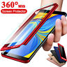 360° Full Cover Case + Tempered Glass For Samsung Galaxy J3 J5 J7 J8 J6 J4 Plus
