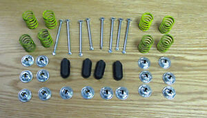 1955 56 57 58-62 CHEVY BRAKE SHOE HOLD DOWN SPRING KIT Does 4 WHEELS * USA MADE