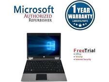 "Refurbished HP EliteBook 2540P 12.1"" Intel Core i5-520M 2.40GHz 4GB DDR3 250GB W"
