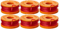 WORX GT Replacement Spool Line WA0010 10-Foot Grass Trimmer/Edger 6-Pack