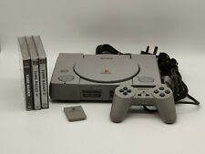 Sony Playstation 1 | PAL CONSOLE | PS1 PSX | Bundle with Tomb Raider Trilogy