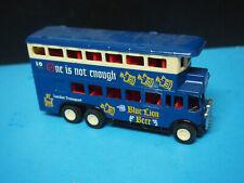 Blue Lion Beer London Double Decker Bus Beer Advertisement Toy