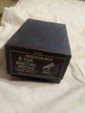Meccano E15R Motor - New in box ! +All papers.1960's ..Excellent .. , !!