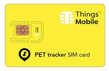 SIM Card per PET GPS TRACKER con rete multi-operatore. Credito non incluso