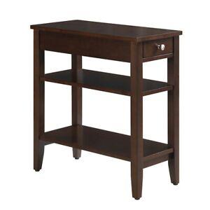 Convenience Concepts American Heritage 3 Tier End Table, Espresso - 7107159ES
